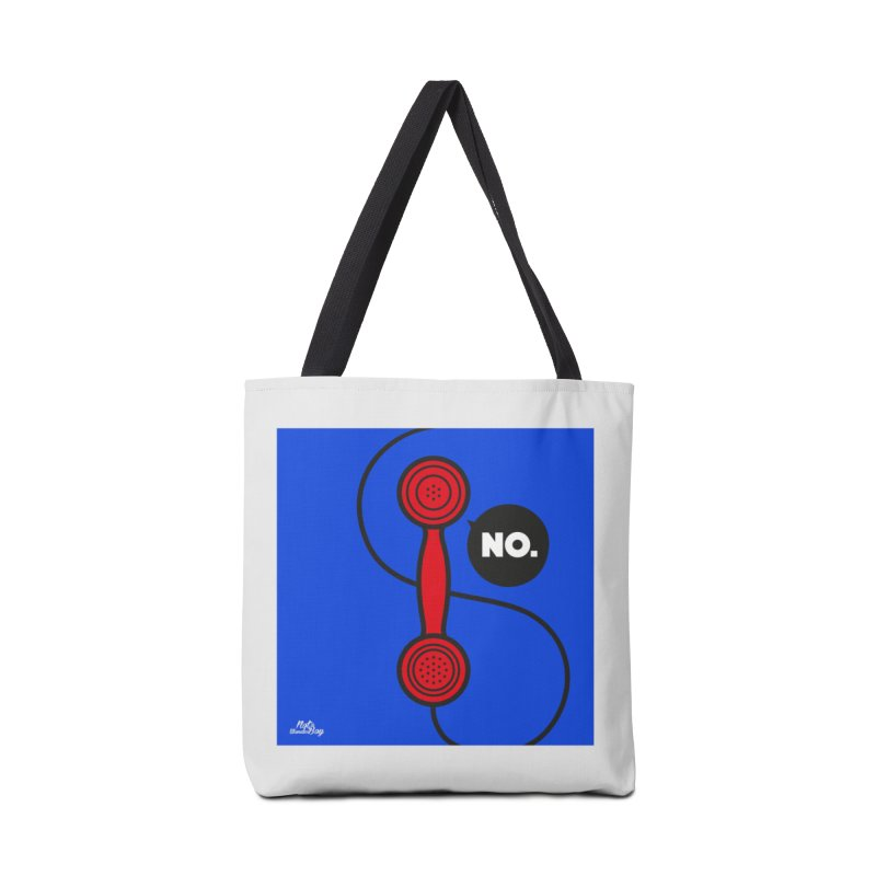 NO. Accessories Tote Bag Bag by Notawonderboy!