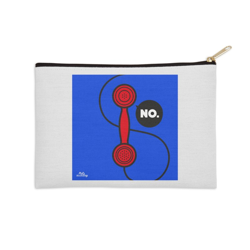 NO. Accessories Zip Pouch by Notawonderboy!