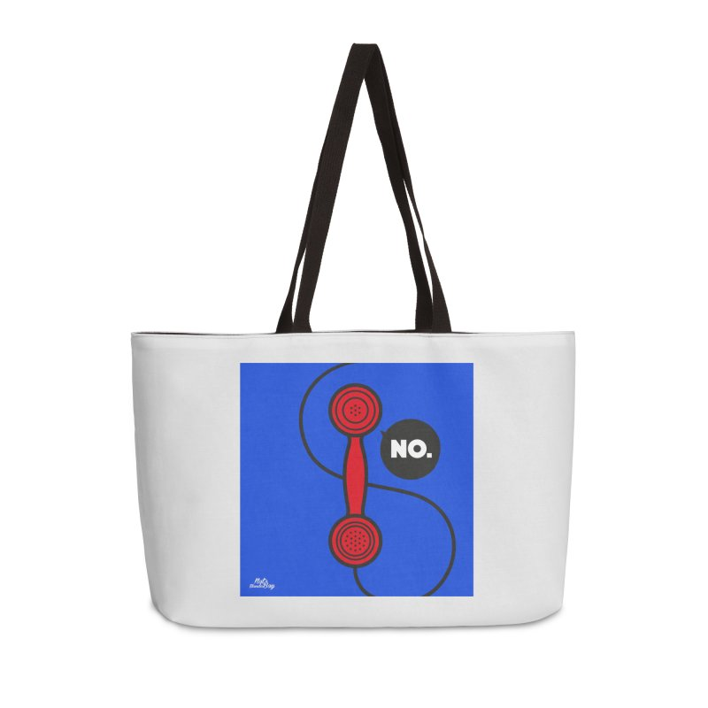 NO. Accessories Weekender Bag Bag by Notawonderboy!