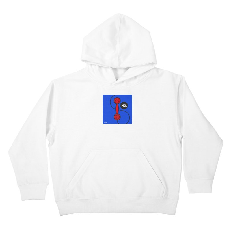 NO. Kids Pullover Hoody by Notawonderboy!