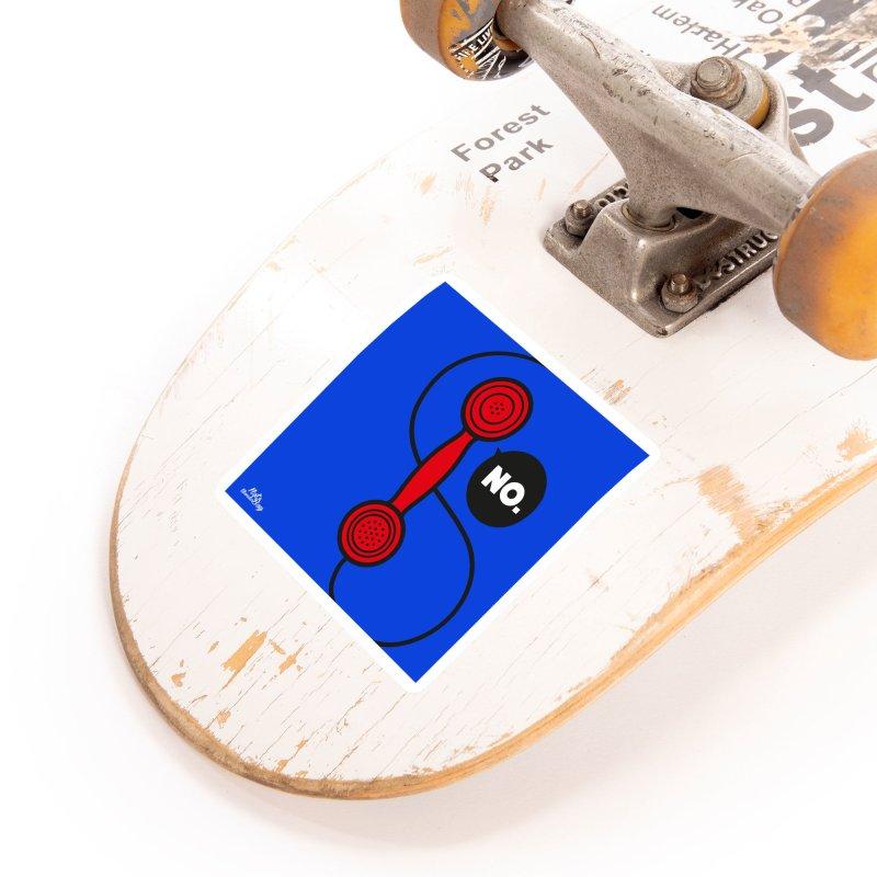 NO. Accessories Sticker by Notawonderboy!