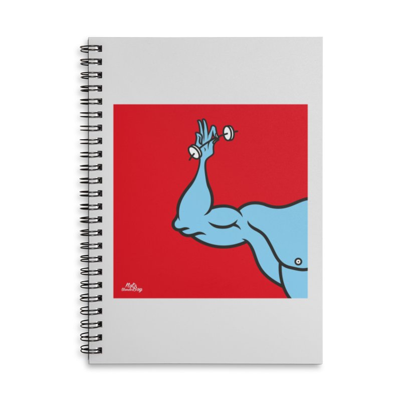 LIFT Accessories Lined Spiral Notebook by Notawonderboy!