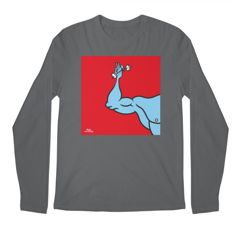 LIFT Men's Longsleeve T-Shirt by Notawonderboy!