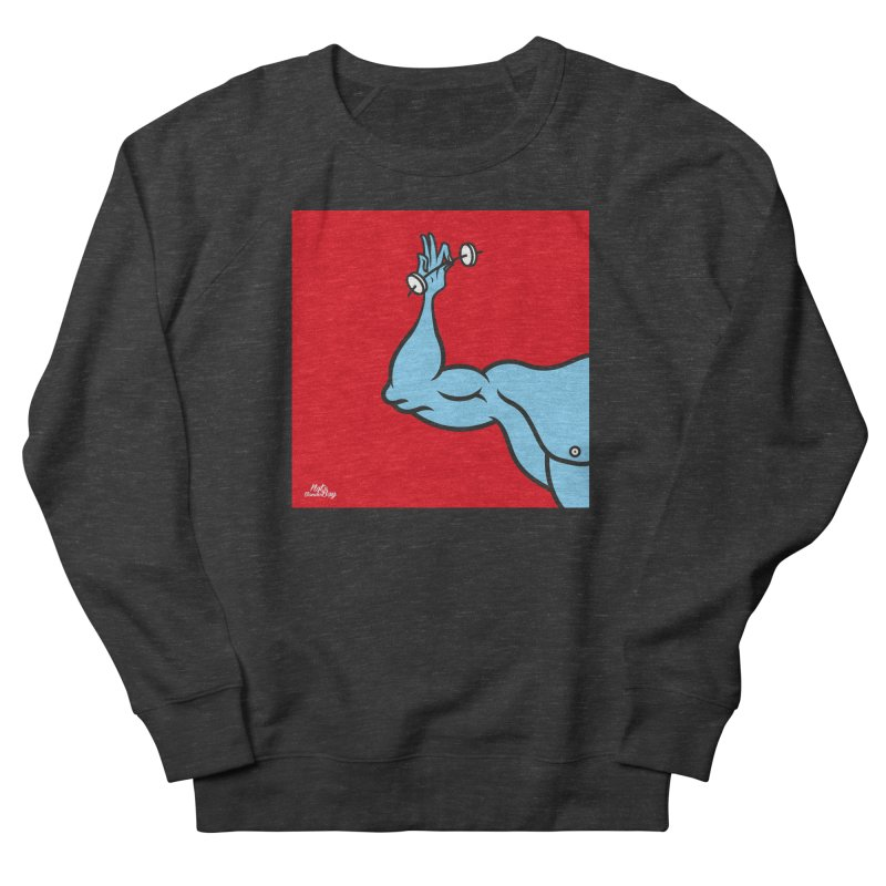LIFT Men's French Terry Sweatshirt by Notawonderboy!