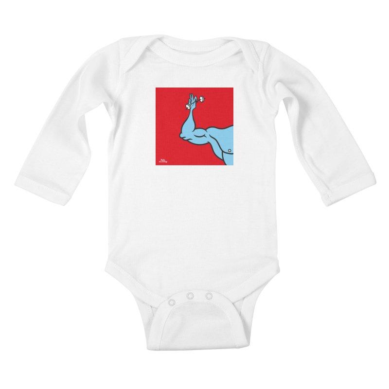 LIFT Kids Baby Longsleeve Bodysuit by Notawonderboy!