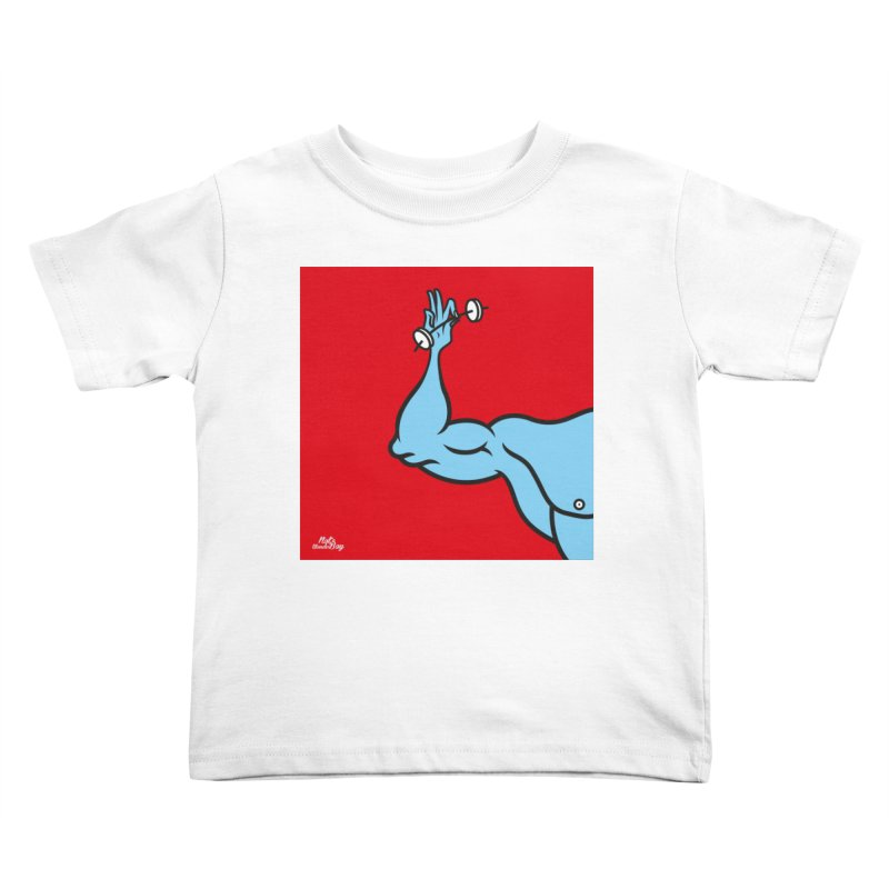 LIFT Kids Toddler T-Shirt by Notawonderboy!