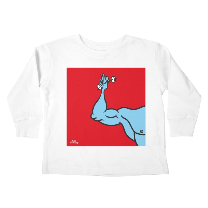 LIFT Kids Toddler Longsleeve T-Shirt by Notawonderboy!