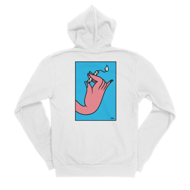 MGG Men's Sponge Fleece Zip-Up Hoody by Notawonderboy!