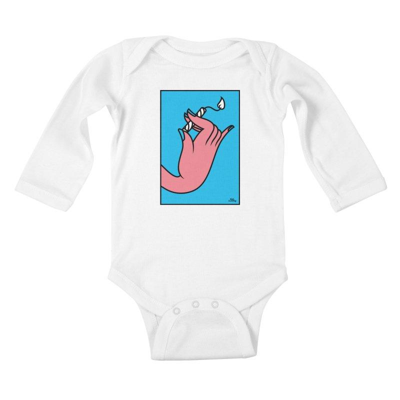 MGG Kids Baby Longsleeve Bodysuit by Notawonderboy!