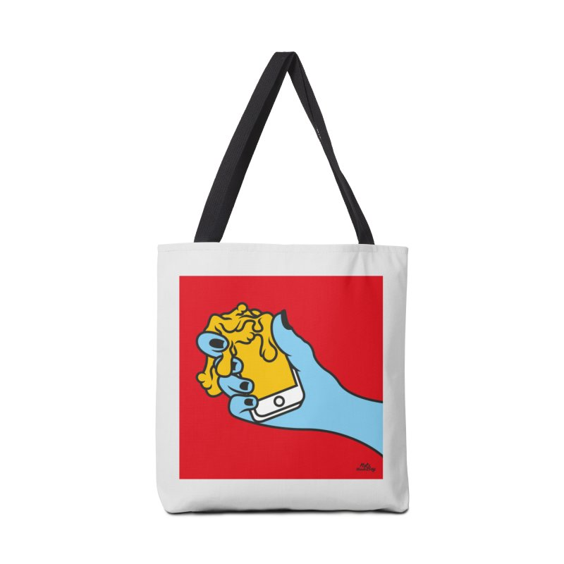 WASTING TIME Accessories Tote Bag Bag by Notawonderboy!