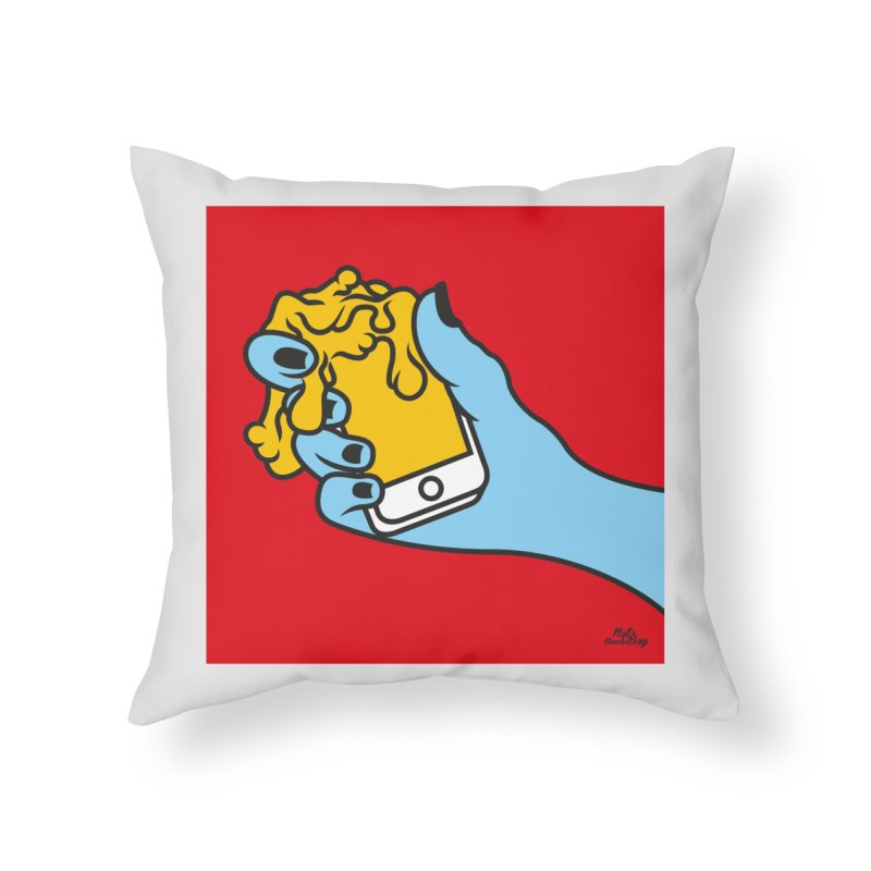 WASTING TIME Home Throw Pillow by Notawonderboy!