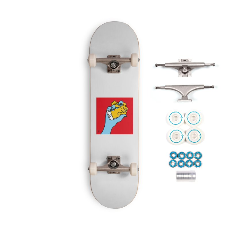 WASTING TIME Accessories Skateboard by Notawonderboy!