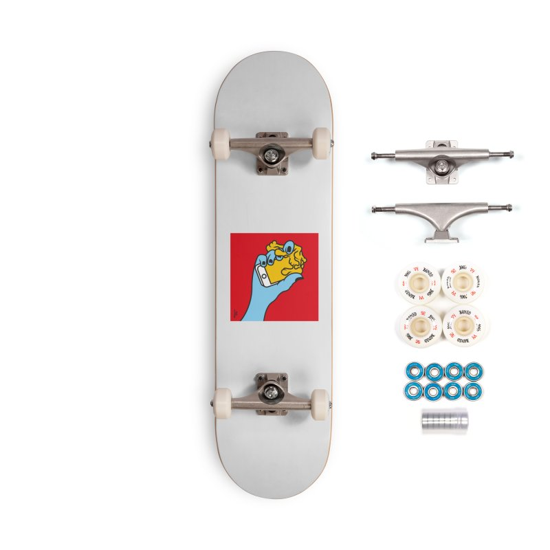 WASTING TIME Accessories Complete - Premium Skateboard by Notawonderboy!