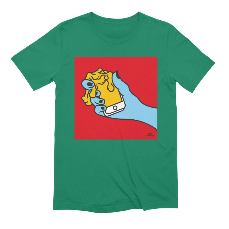 WASTING TIME Men's Extra Soft T-Shirt by Notawonderboy!