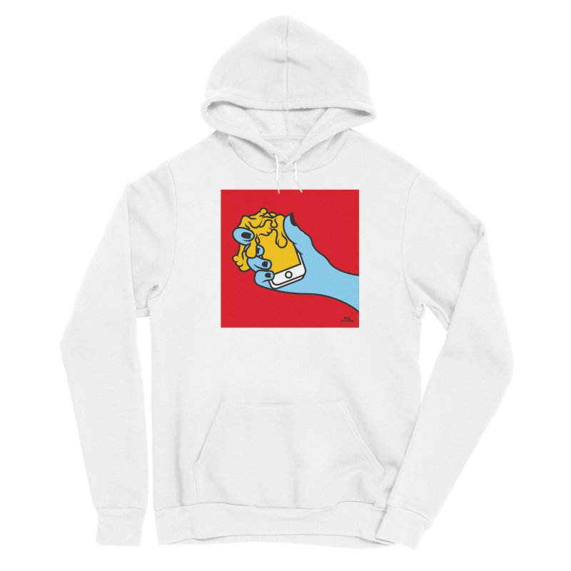 WASTING TIME Women's Sponge Fleece Pullover Hoody by Notawonderboy!