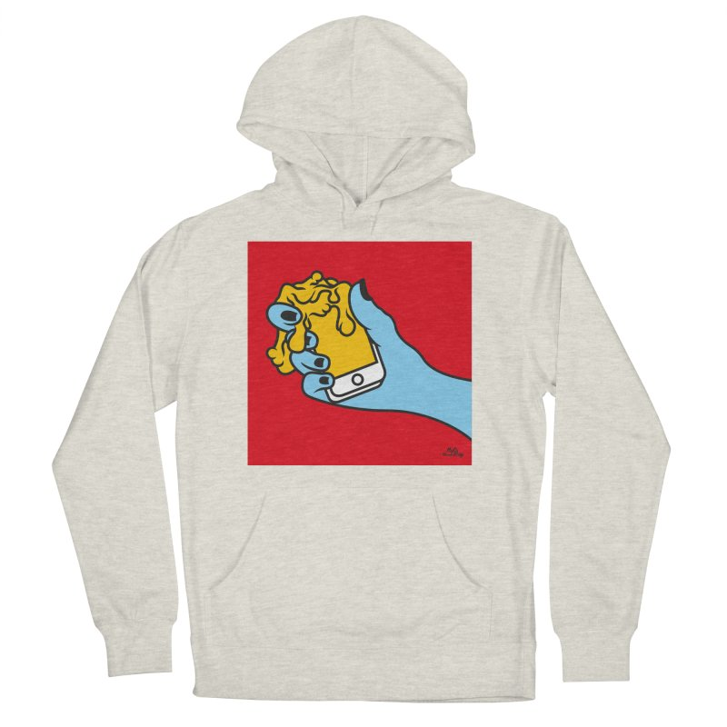 WASTING TIME Men's French Terry Pullover Hoody by Notawonderboy!
