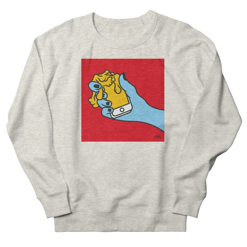 WASTING TIME Men's French Terry Sweatshirt by Notawonderboy!
