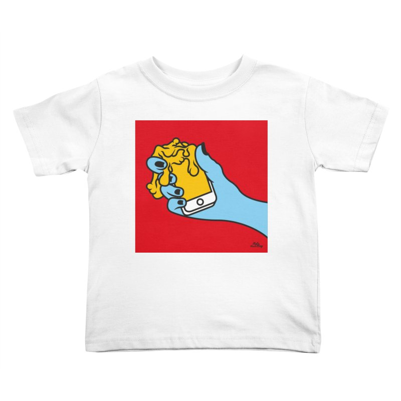WASTING TIME Kids Toddler T-Shirt by Notawonderboy!