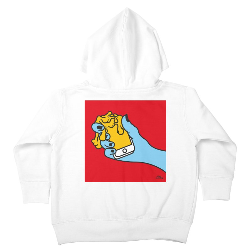 WASTING TIME Kids Toddler Zip-Up Hoody by Notawonderboy!