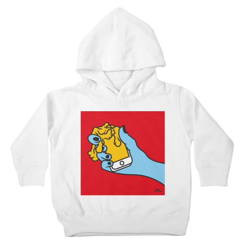 WASTING TIME Kids Toddler Pullover Hoody by Notawonderboy!