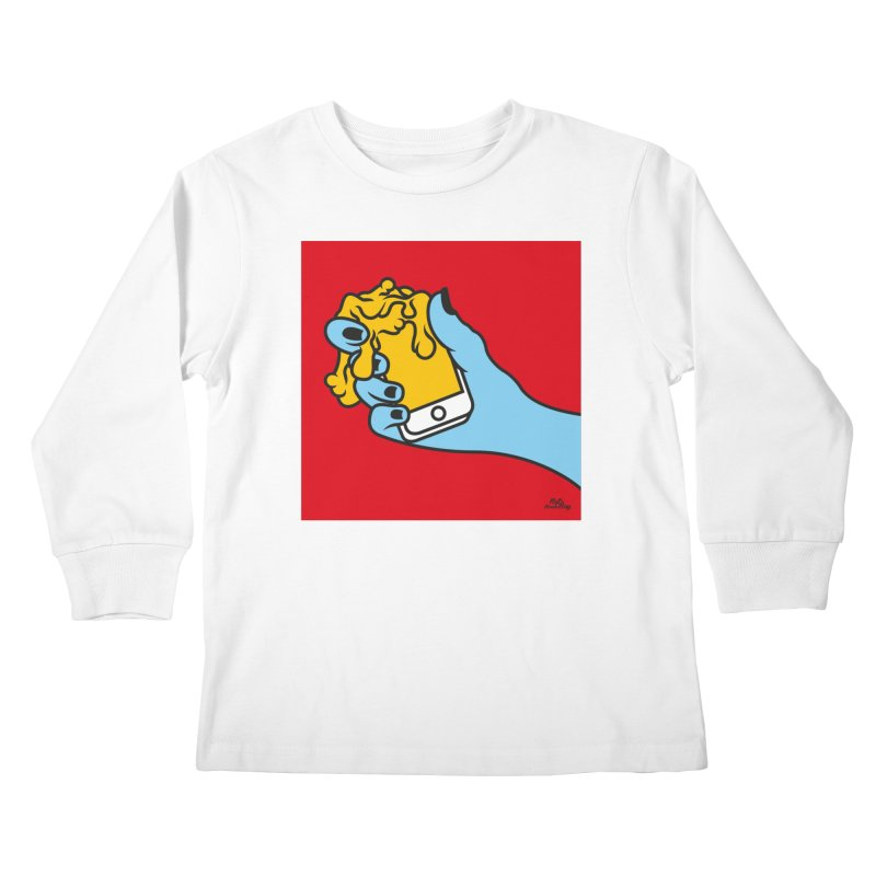 WASTING TIME Kids Longsleeve T-Shirt by Notawonderboy!