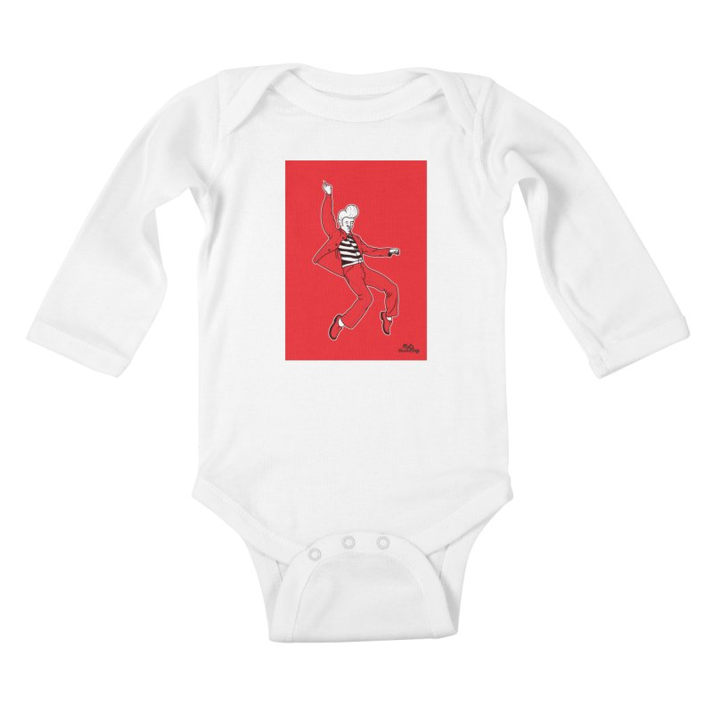 LEVIS Kids Baby Longsleeve Bodysuit by Notawonderboy!