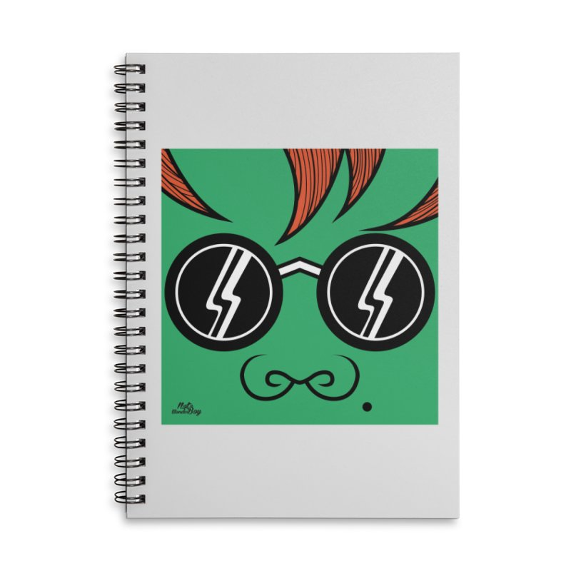 HULK Accessories Lined Spiral Notebook by Notawonderboy!