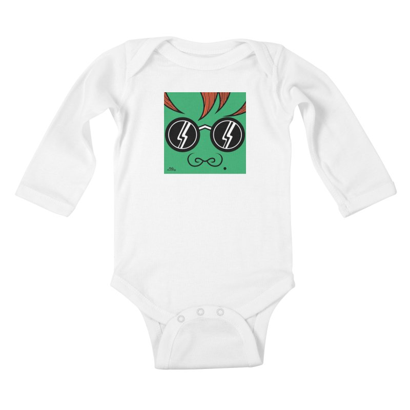 HULK Kids Baby Longsleeve Bodysuit by Notawonderboy!