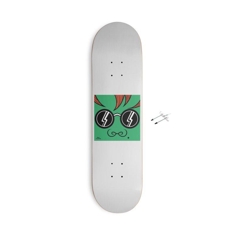 HULK Accessories Skateboard by Notawonderboy!