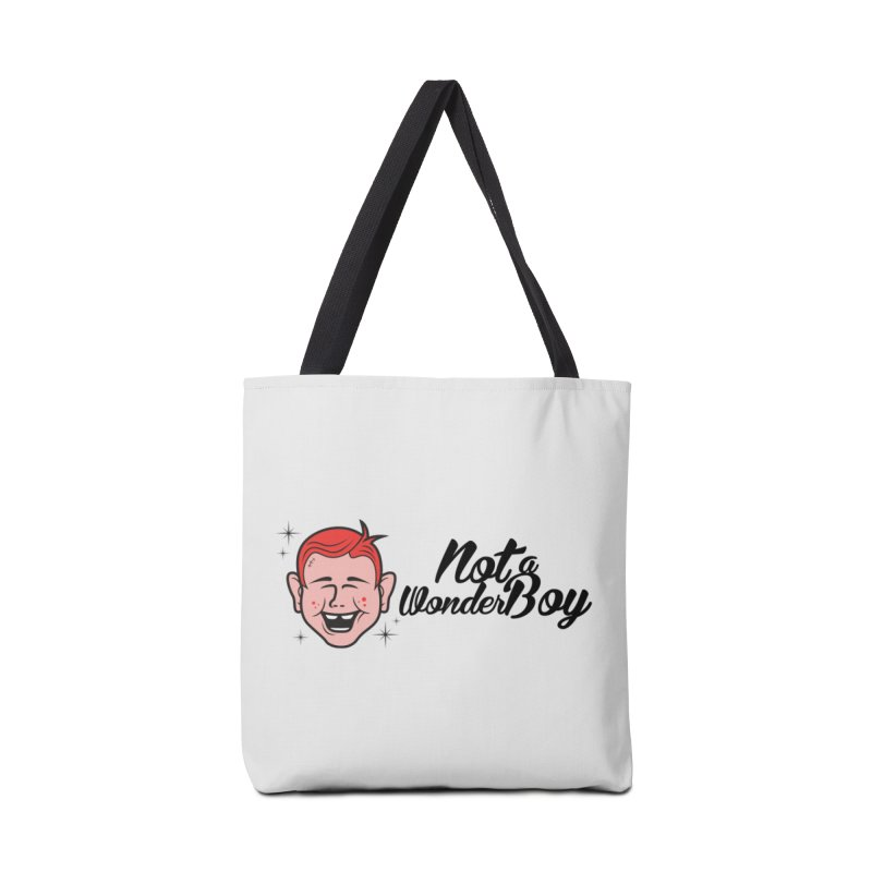 NOTAWONDERBOY Accessories Tote Bag Bag by Notawonderboy!
