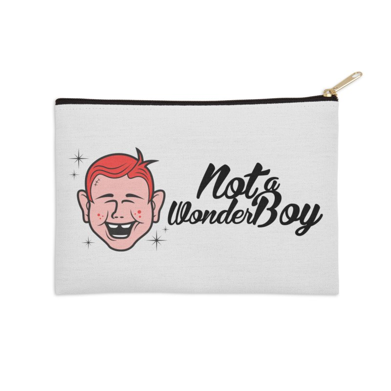 NOTAWONDERBOY Accessories Zip Pouch by Notawonderboy!