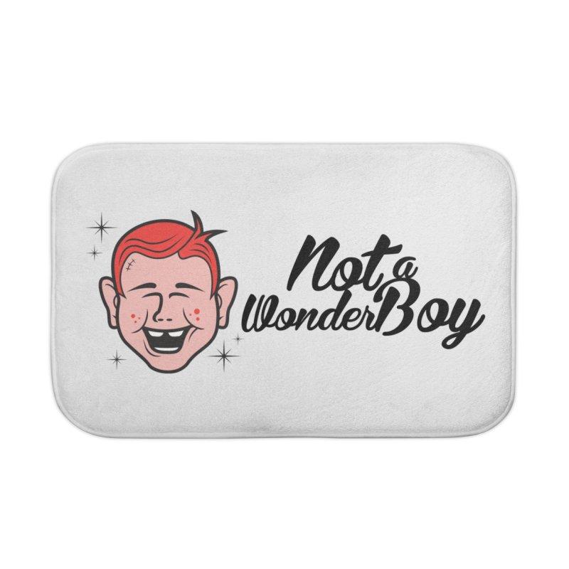 NOTAWONDERBOY Home Bath Mat by Notawonderboy!