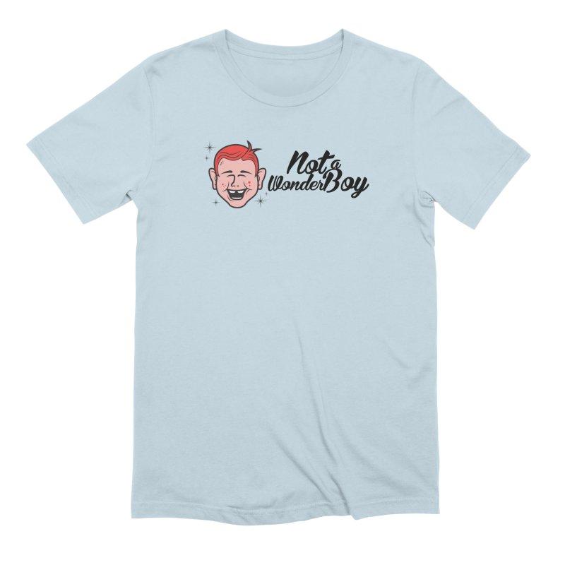 NOTAWONDERBOY Men's Extra Soft T-Shirt by Notawonderboy!