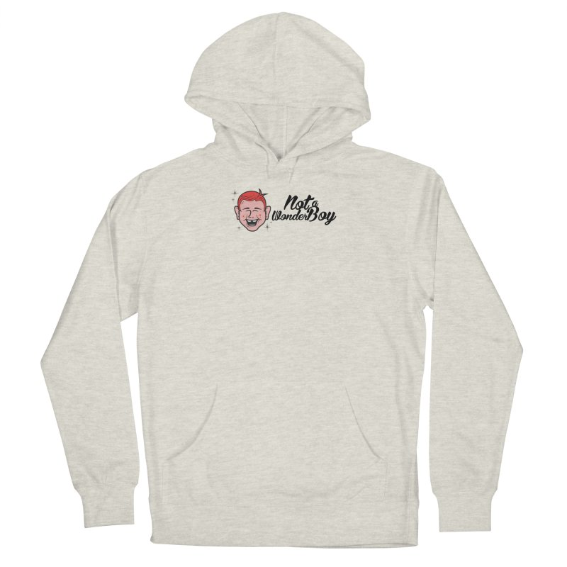 NOTAWONDERBOY Men's French Terry Pullover Hoody by Notawonderboy!