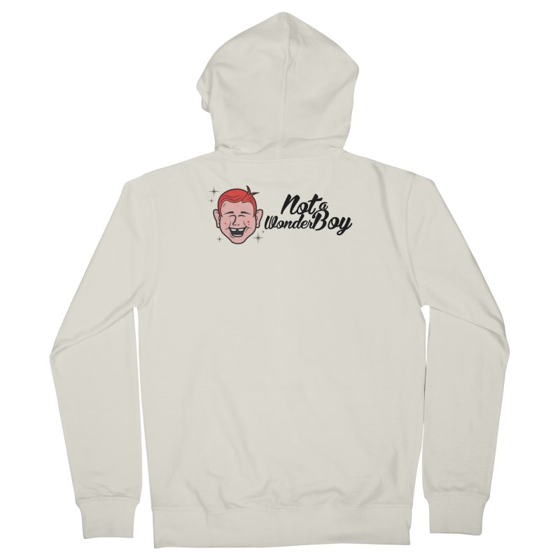 NOTAWONDERBOY Men's French Terry Zip-Up Hoody by Notawonderboy!