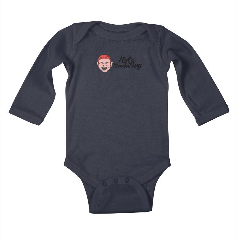 NOTAWONDERBOY Kids Baby Longsleeve Bodysuit by Notawonderboy!
