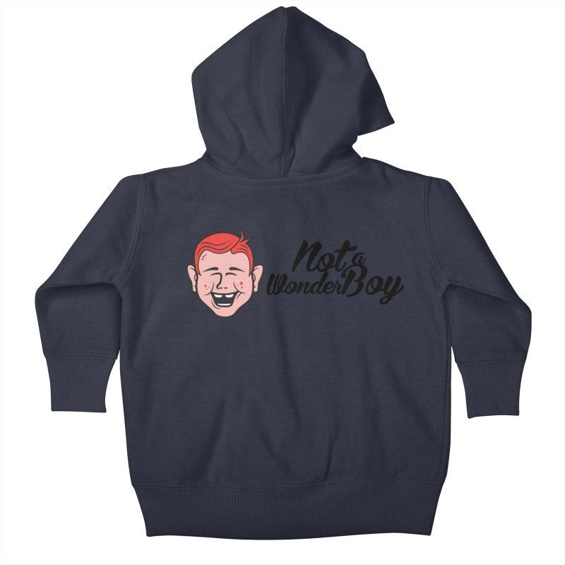 NOTAWONDERBOY Kids Baby Zip-Up Hoody by Notawonderboy!