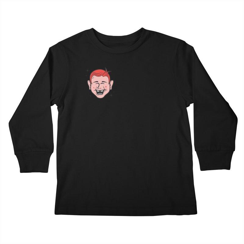 NOTAWONDERBOY Kids Longsleeve T-Shirt by Notawonderboy!