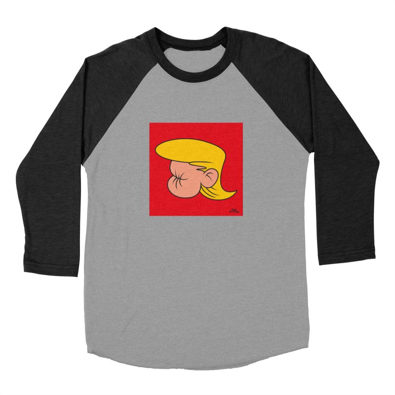TUCK FRUMP Women's Baseball Triblend Longsleeve T-Shirt by Notawonderboy!