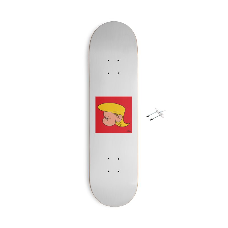 TUCK FRUMP Accessories With Hanging Hardware Skateboard by Notawonderboy!