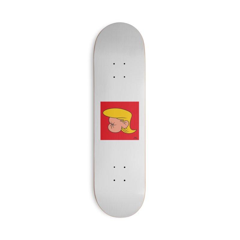 TUCK FRUMP Accessories Deck Only Skateboard by Notawonderboy!