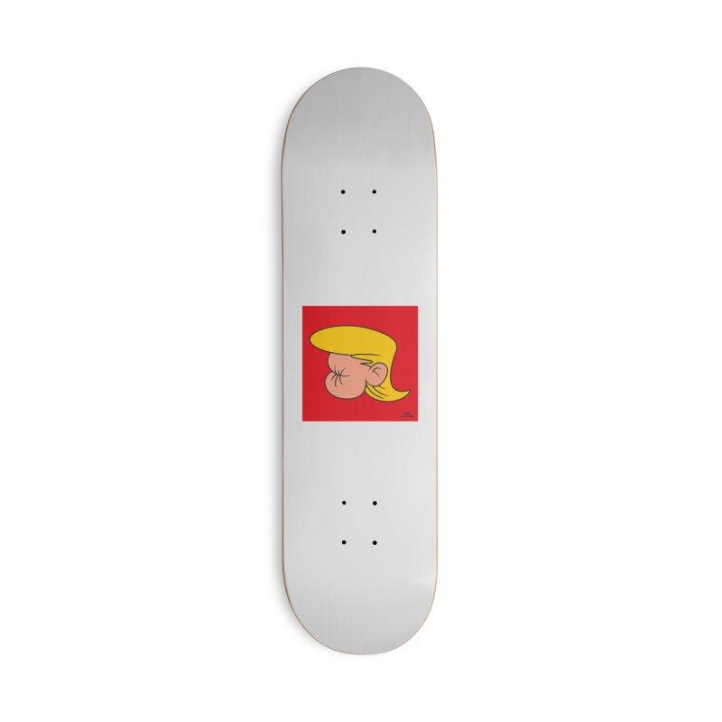 TUCK FRUMP Accessories Skateboard by Notawonderboy!