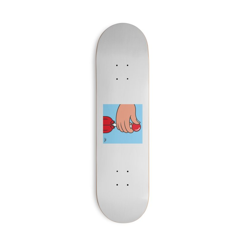 CONTROL Accessories Deck Only Skateboard by Notawonderboy!