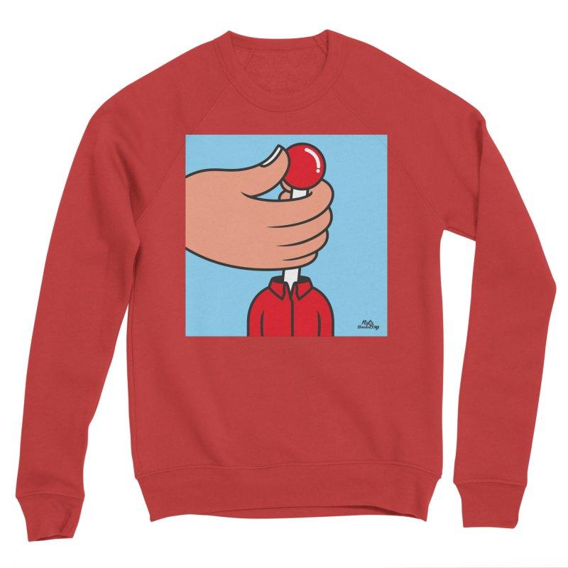 CONTROL Men's Sponge Fleece Sweatshirt by Notawonderboy!