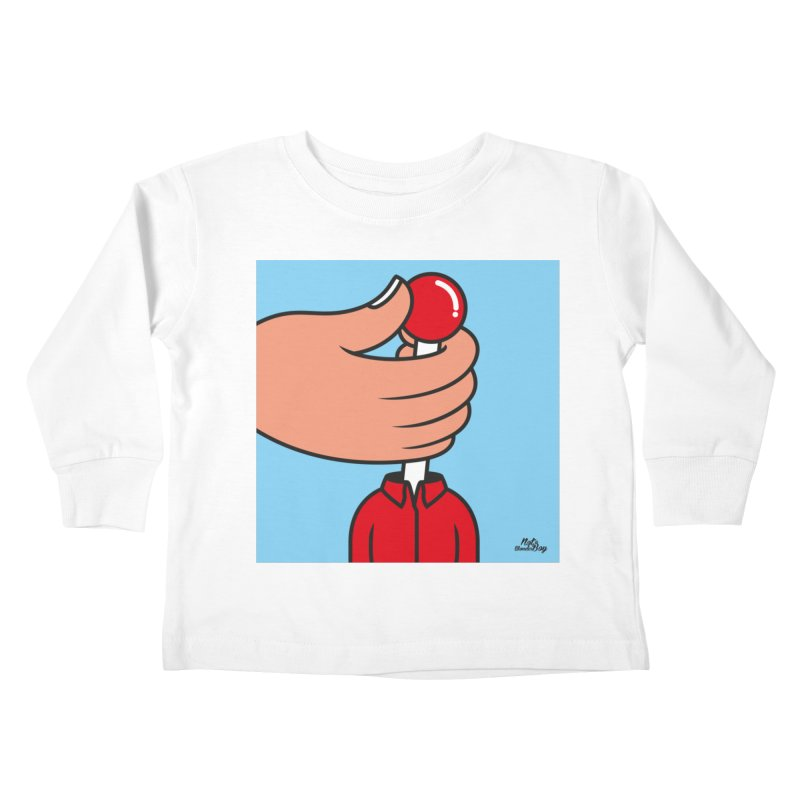 CONTROL Kids Toddler Longsleeve T-Shirt by Notawonderboy!