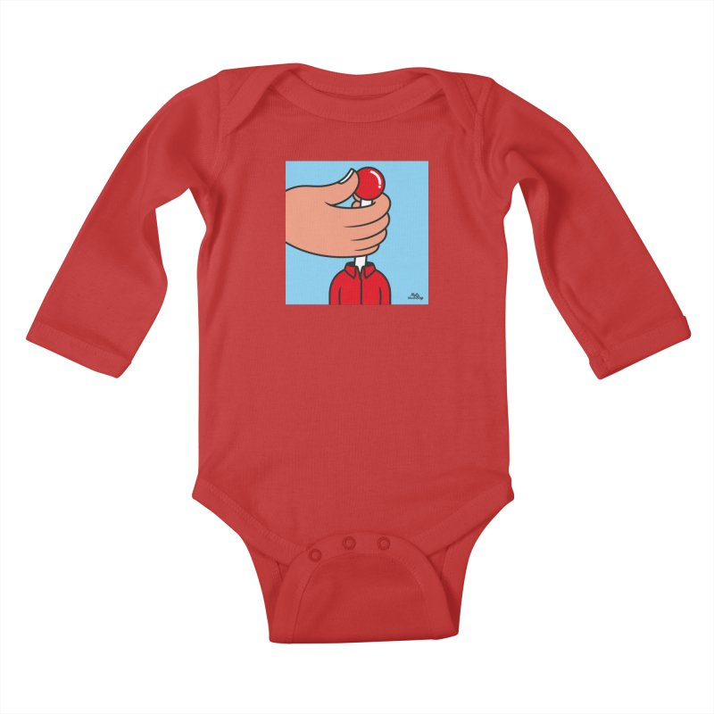 CONTROL Kids Baby Longsleeve Bodysuit by Notawonderboy!