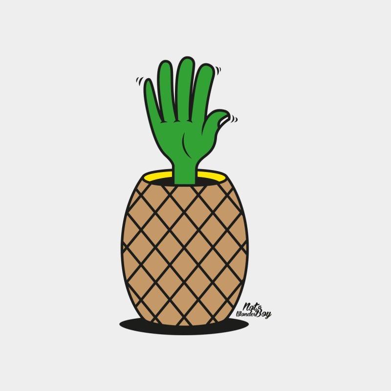 ANANAS Kids T-Shirt by Notawonderboy!