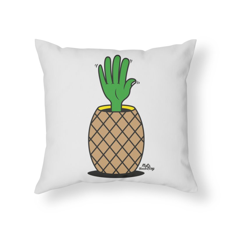 ANANAS Home Throw Pillow by Notawonderboy!