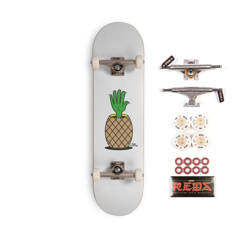 ANANAS Accessories Complete - Pro Skateboard by Notawonderboy!