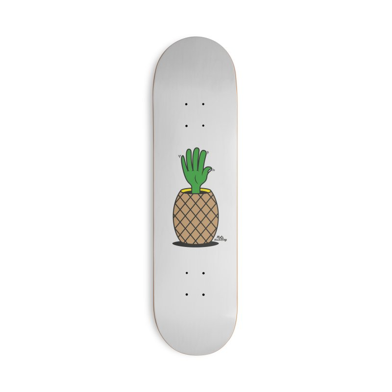ANANAS Accessories Deck Only Skateboard by Notawonderboy!